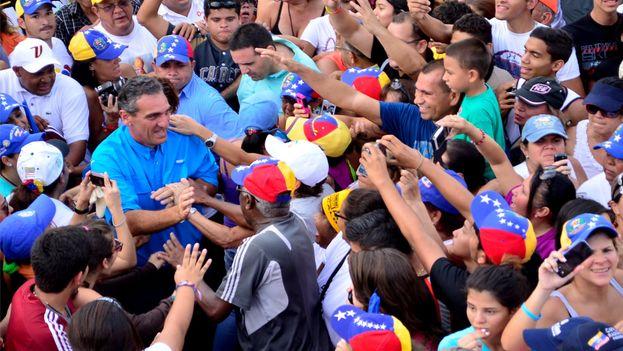 El excalde del municipio venezolano de San Diego, Enzo Scarano. (www.enzoscarano.com)