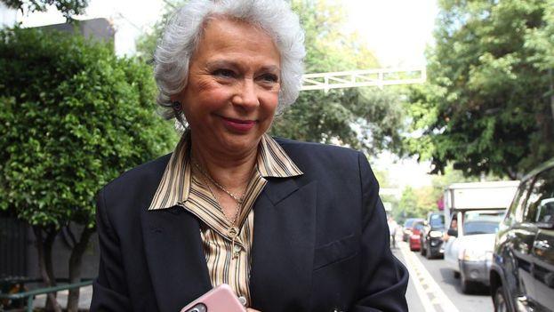 La exmagistrada de la Suprema Corte, Olga Sánchez Cordero, será la próxima secretaria de Gobernación de México con López Obrador. (EFE)