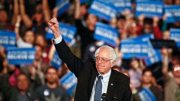 Sanders se impuso en New Hampshire por un 26% de los votos. (BernieSanders)