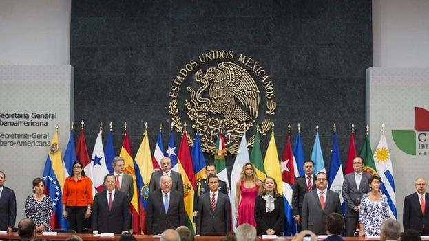 Traspaso de la Secretaría General Iberoamericana. (XXIV CUMBRE IBEROAMERICANA)
