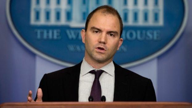 El asesor adjunto de Seguridad Nacional, Ben Rhodes. (EFE)