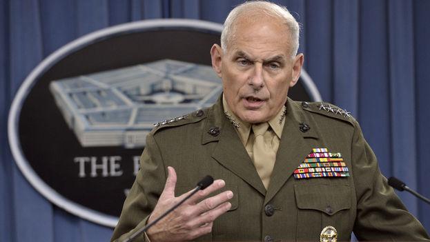 El general retirado John Kelly, secretario de Seguridad Nacional en EE UU. (EFE)