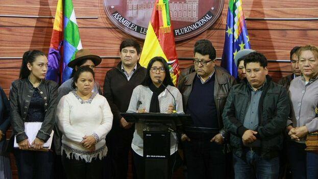 El Senado boliviano anunció que este martes iniciará el trabajo legislativo con miras a las nuevas elecciones y condenó la violencia que vive el país. (@SenadoBolivia)