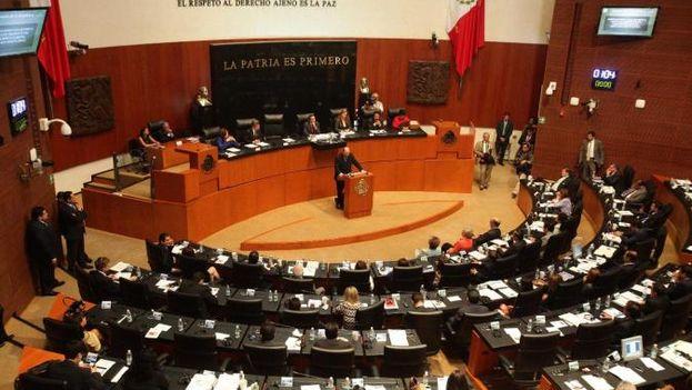 Senado mexicano durante una sesión. (CC)