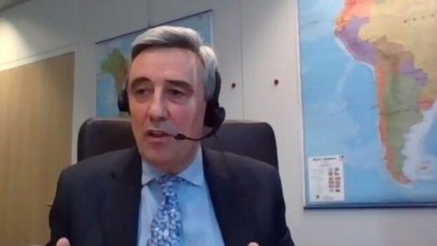 Javier Niño Pérez, director del Servicio Europeo de Acción Exterior, sostuvo que la exigencia europea en materia de derechos humanos es mayor a la de China, lo que supone una desventaja en términos comercialses. (SEAE)