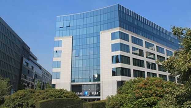 Sede del Servicio Europeo de Acción Exterior en Bruselas. (SEAE)