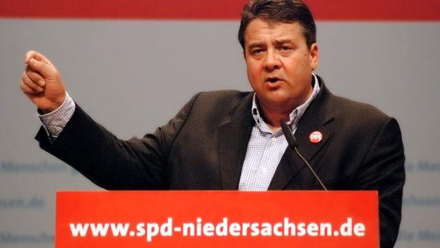 Sigmar Gabriel, ministro de Economía de Alemania. (CC)