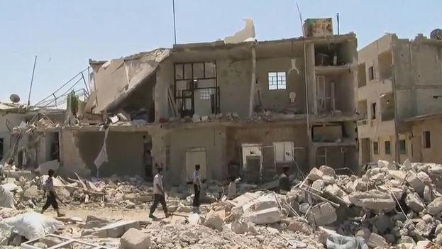 La guerra civil de Siria se inició en 2011 y ha supuesto la muerte de al menos 200.000 personas y la práctica destrucción del país. (CC)