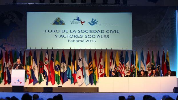 El Foro de la Sociedad Civil y Actores Sociales. (Cumbre de las Américas)