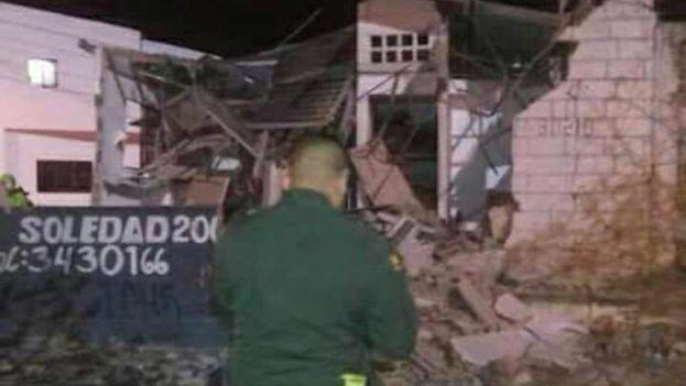 El ataque en el barrio de Soledad se produjo apenas un día después del de su vecina Barranquilla. (@jorgecura1070)