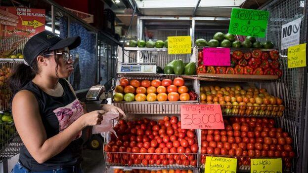 Solo para comer, una familia requiere más de 100 salarios mínimos. (EFE)