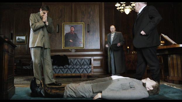 La proyección de 'La muerte de Stalin' fue inicialmente suspendida en Rusia. (Fotograma)
