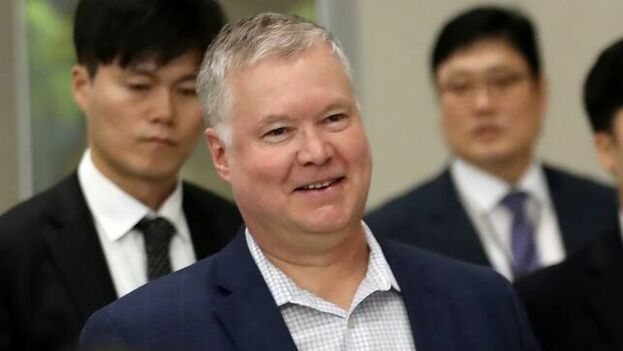 Stephen Biegun, llegó este domingo a Seúl en una nueva visita por la región como parte de sus gestiones para favorecer los intentos de desnuclearizar la península coreana. (EFE)