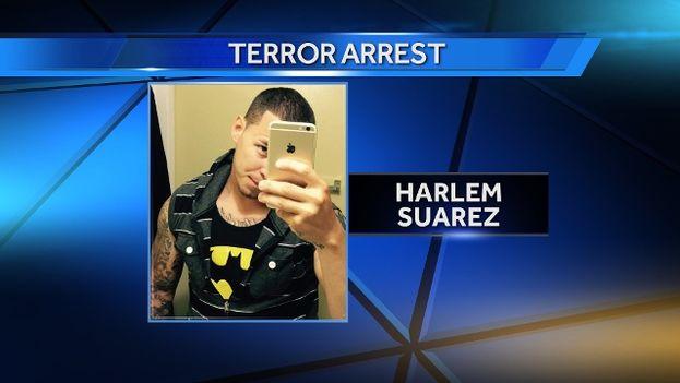 Suárez, de 25 años, vivía en Cayo Hueso en compañía de sus padres hasta su arresto. (Captura)