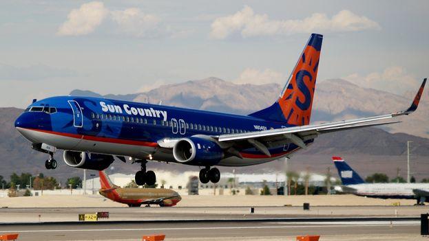 Sun Country es una aerolinea de bajo costo en EE UU (CC)