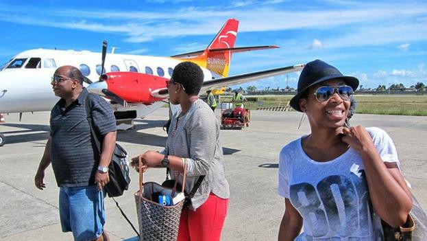 Sunrise Airways volará a a Camagüey desde Haití los lunes y los viernes. (Facebook)