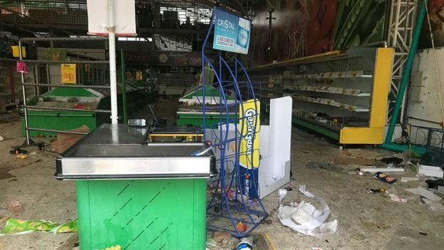 Supercundi de Melgar tras los saqueos del pasado lunes. (RCN Radio)