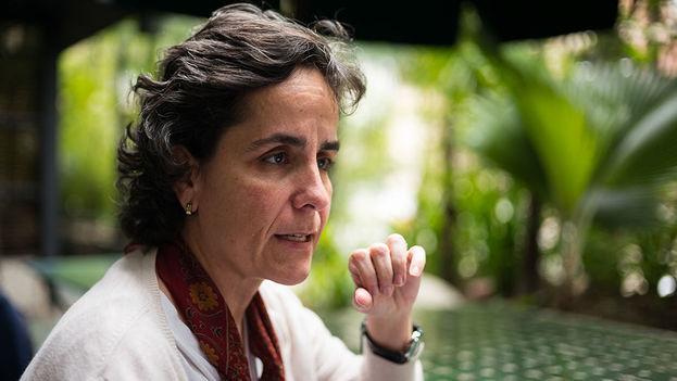 """Susana Raffalli explicó que Venezuela tiene """"un déficit de oferta de alimentos del 35% al 40%"""". (Andrés Kerese)"""