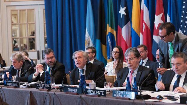 En la reunión del TIAR se activaron nuevas medidas para intentar presionar más al chavismo. (OEA)