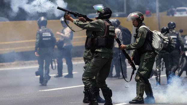 Táchira, al igual que Caracas y otros estados de Venezuela, ha sido en los últimos días escenario de fuertes protestas antigubernamentales y disturbios. (EFE)