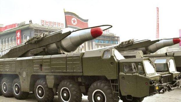 Tanques de Corea del Norte. (EFE)