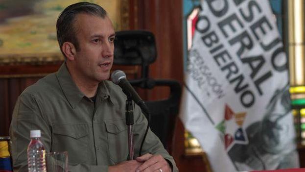"""Tareck El Aissami dijo este viernes que los dueños de los mataderos """"iniciaron de alguna manera un boicot"""" tras la congelación de los precios en agosto pasado. (EFE)"""