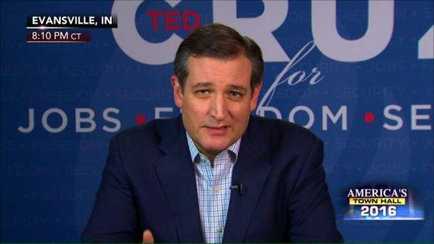 Ted Cruz afirma que solo con su nominación los republicanos pueden vencer a Hillary Clinton. (@tedcruz)