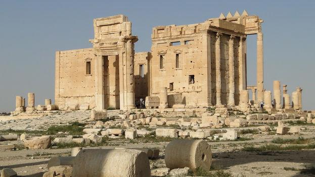Templo de Bel en la ciudad de Palmira. (CC)