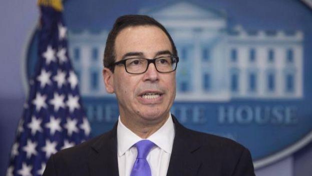 """El secretario del Tesoro de Estados Unidos, Steve Mnuchin, recordó que el comportamiento """"provocador"""" de Corea del Norte """"no será tolerado"""". (EFE)"""