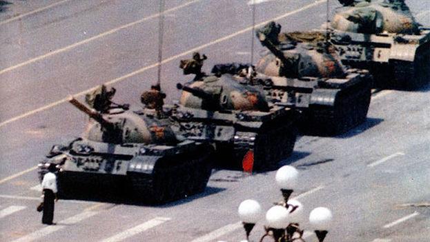 La plaza de Tiananmen en China fue escenario de protestas pidiendo más apertura en 1989