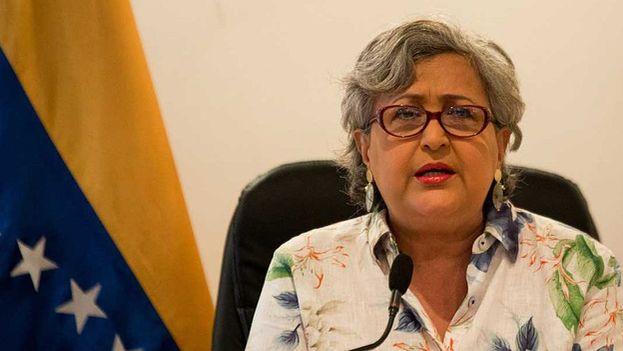 Tibisay Lucena anunció ayer las condiciones generales de las próximas elecciones municipales. (CNE)