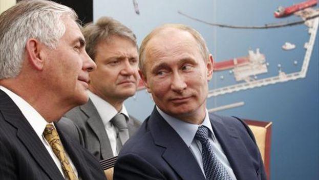 Grupos de derechos humanos están horrorizados por el nombramiento de Tillerson por vínculos con Rusia, y su amistad de los líderes de Arabia Saudita, Qatar, Guinea Ecuatorial y otras dictaduras. (EFE)