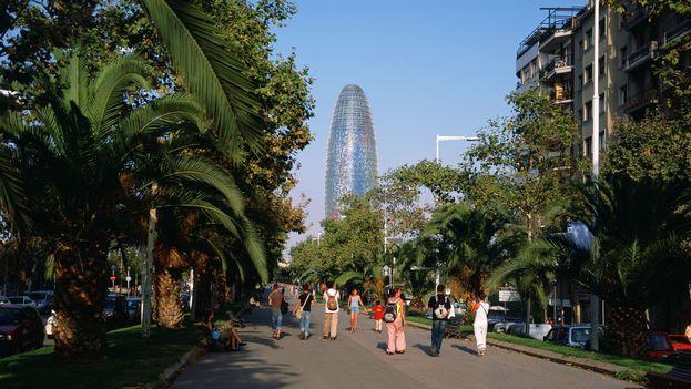 La Torre Agbar de Barcelona. (Jean Nouvel)