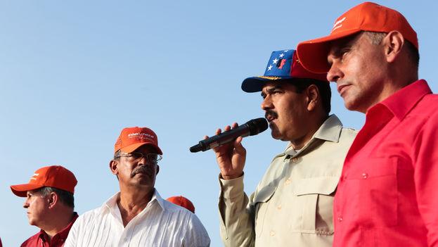 Hebert García Plaza, exministro de Transporte Aéreo y Acuático con Nicolás Maduro. (VTV)