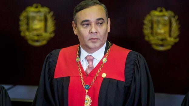 El presidente del Tribunal Supremo de Justicia, Maikel Moreno (EFE/Miguel Gutiérrez)