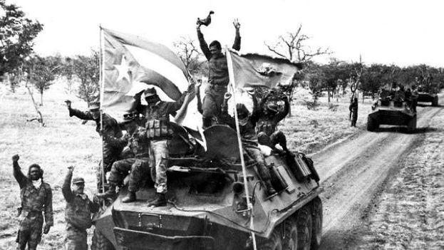 Tropas cubanas en Angola. (CC)