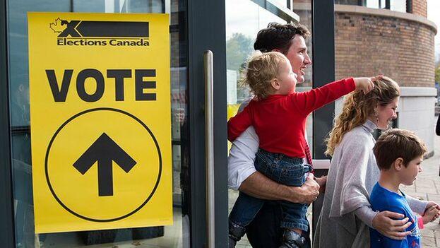 """Trudeau se comprometió a que la voz de los quebequeses """"se oiga más en Ottawa"""" tras la fuerte subida del partido independentista de la región. (Liberal Party)"""