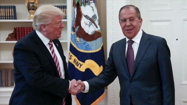 La visita de Lavrov a Washington ha sido el contacto de más alto nivel de Trump con el Kremlin desde su llegada a la Casa Blanca el pasado 20 de enero. (Hispan TV)