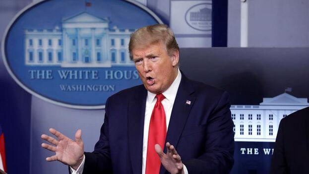 Se espera que el anuncio de Trump suponga la suspensión permanente de casi toda la contribución de Estados Unidos a la organización. (EFE)