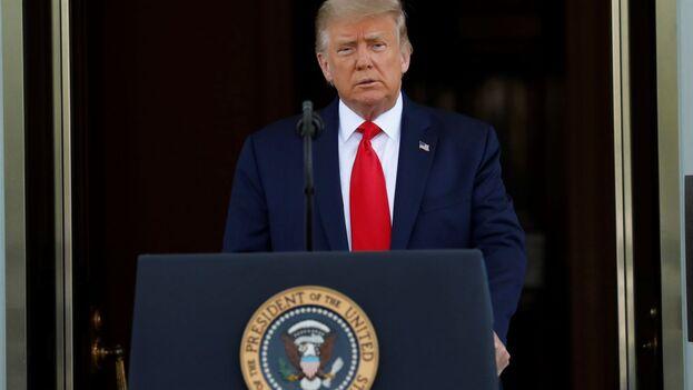 Trump criticó a los principales generales y funcionarios del Pentágono, con quienes ha mantenido una tensa relación durante estos años. (EFE)