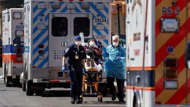 Trump advirtió que esta podría ser la semana más dura desde que la pandemia comenzó su propagación masiva en EE UU. (EFE)