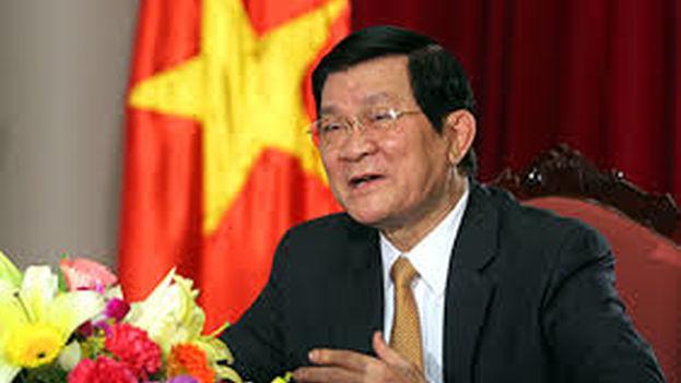 Truong Tan Sang, presidente de Vietnam. (CC)
