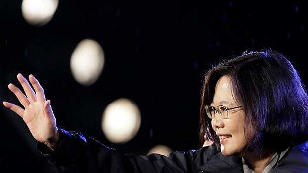 Tsai Ing-wen nueva presidenta de Taiwan. (EFE)
