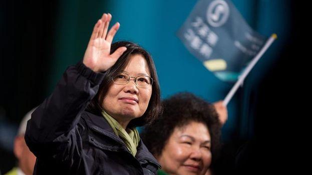 Tsai Ing-wen, presidenta electa de Taiwán. (EFE)