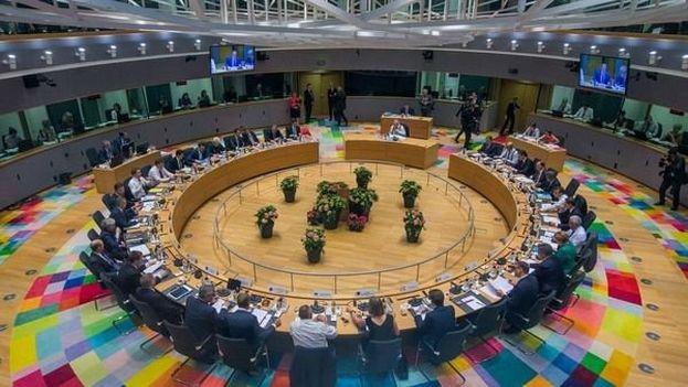 Los líderes de la UE comenzaron la cumbre a las 3 de la tarde y no salieron hasta bien entrada la madrugada. (EUCOPress)