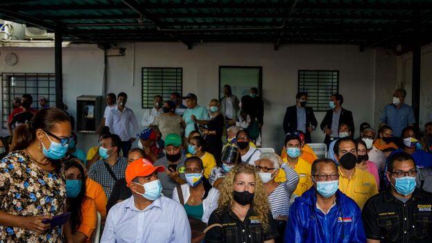 La oposición venezolana anunció que la UE participará como observador si prosperan las conversaciones. (EFE)