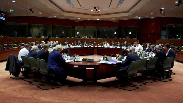 """En octubre, los países de la UE ya habían llegado a un acuerdo político para preparar sanciones contra personalidades venezolanas consideradas responsables de """"represión"""" . (Consejo Europeo)"""