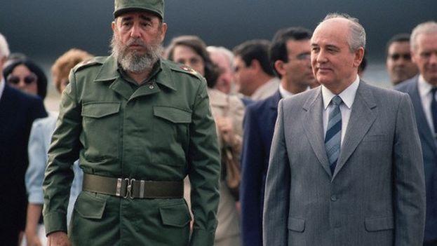 El primer viaje de Gorbachov a América Latina