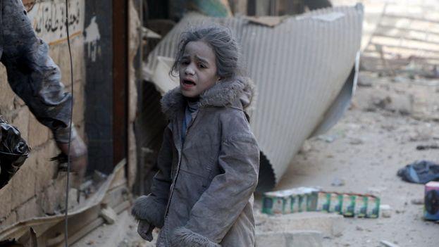 Unicef ha urgido este martes a no mirar a otro lado ante el sufrimiento de los niños en Alepo. (@Unicef_es)