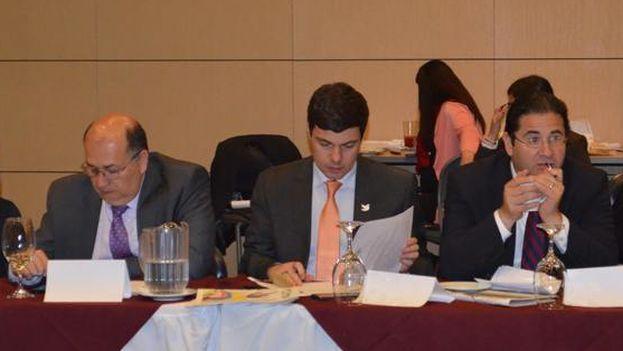 El director de la Unidad Nacional de Protección, Diego Mora, anunciando la nueva medida (UNP/Colombia)